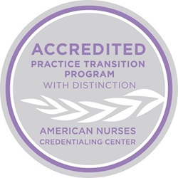 American Nurses Credentialing Center Practice Transition Program accreditation logo