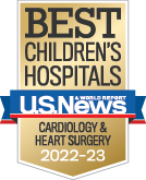 US News Cardiology and Heart Surgery Badge