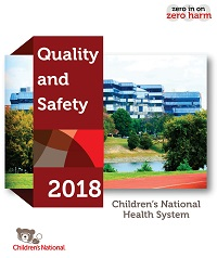 Cover image of the most recent Children's National Quality and Safety Report