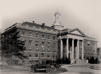 Historical picture of Walter Reed Army Medical Center