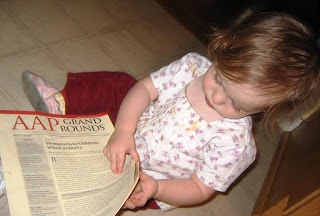 reading about pediatrics early