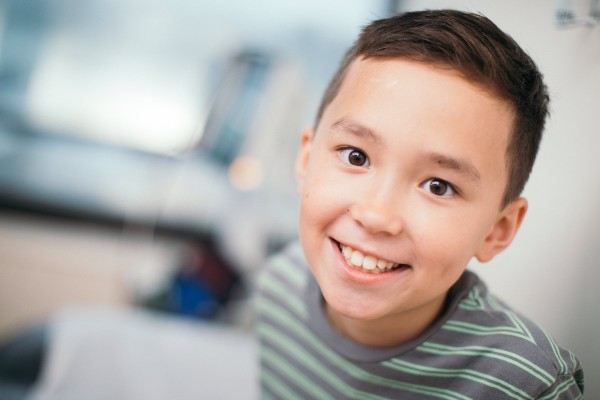 Young Boy Patient Smiling