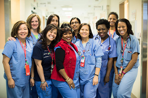 Nursing team