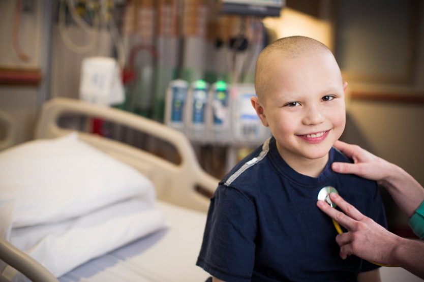 young oncology patient