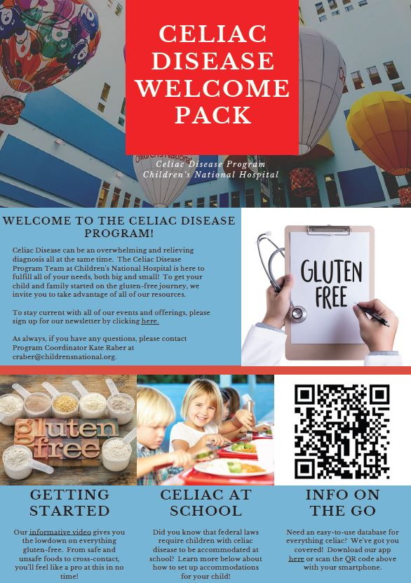 Children's National Gluten Free Getting Started Guide