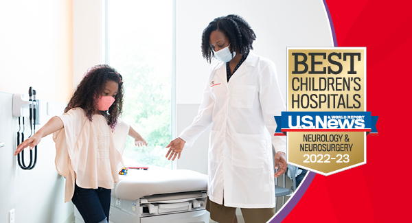 Neurology - Ranked #5 in the Nation | Children's National