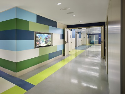 Child and adolescent inpatient psychiatry unit at Children's National