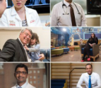 Doctor collage