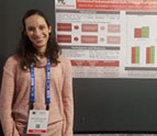 Dr. Allison Ratto at the ABCT poster session