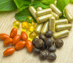 A variety of  dietary supplements