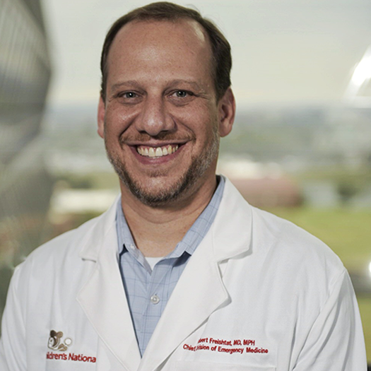Headshot of Dr. Freishtat at Children's National