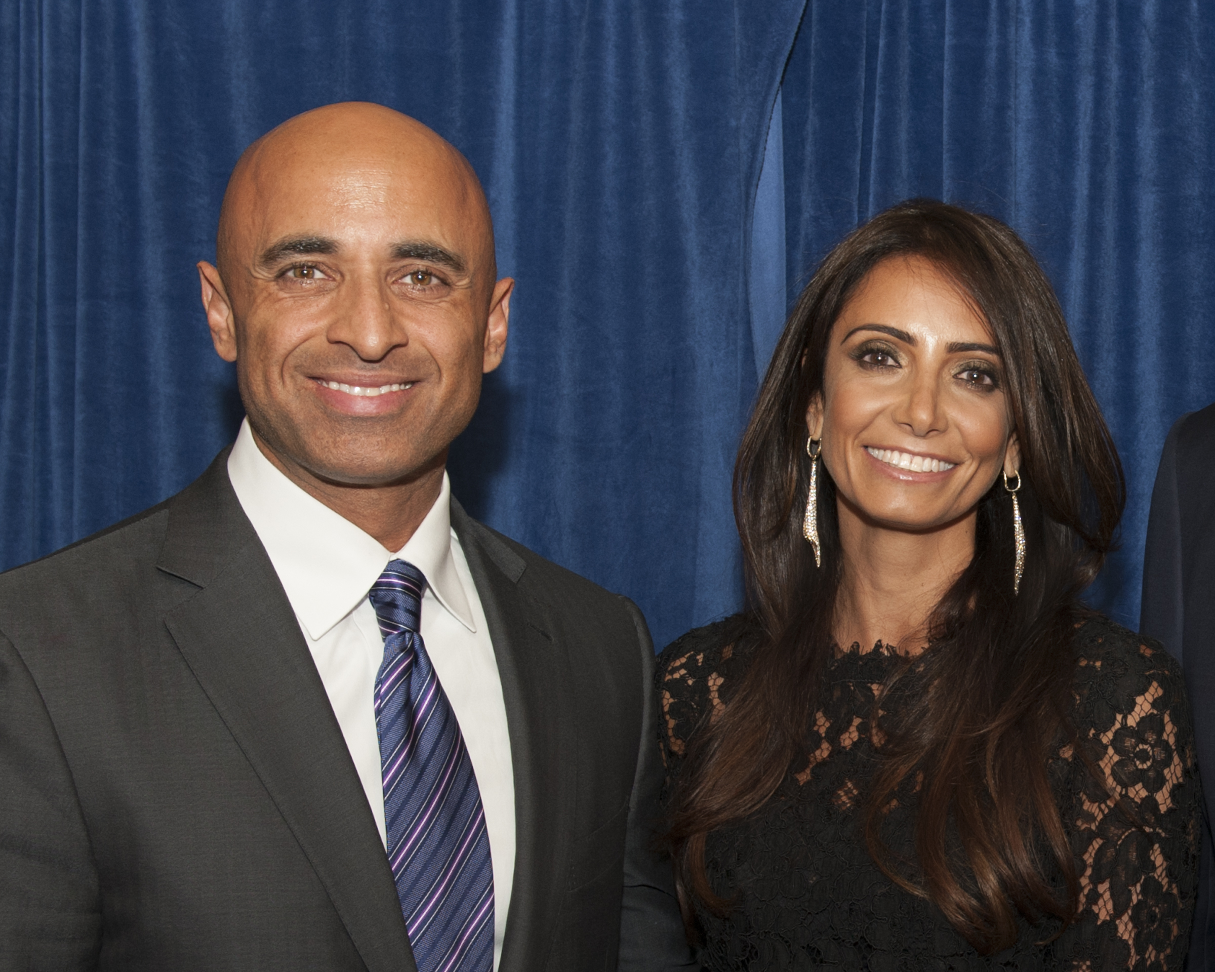His Excellency Yousef Al Otaiba, UAE Ambassador to the United States, and his wife, Abeer