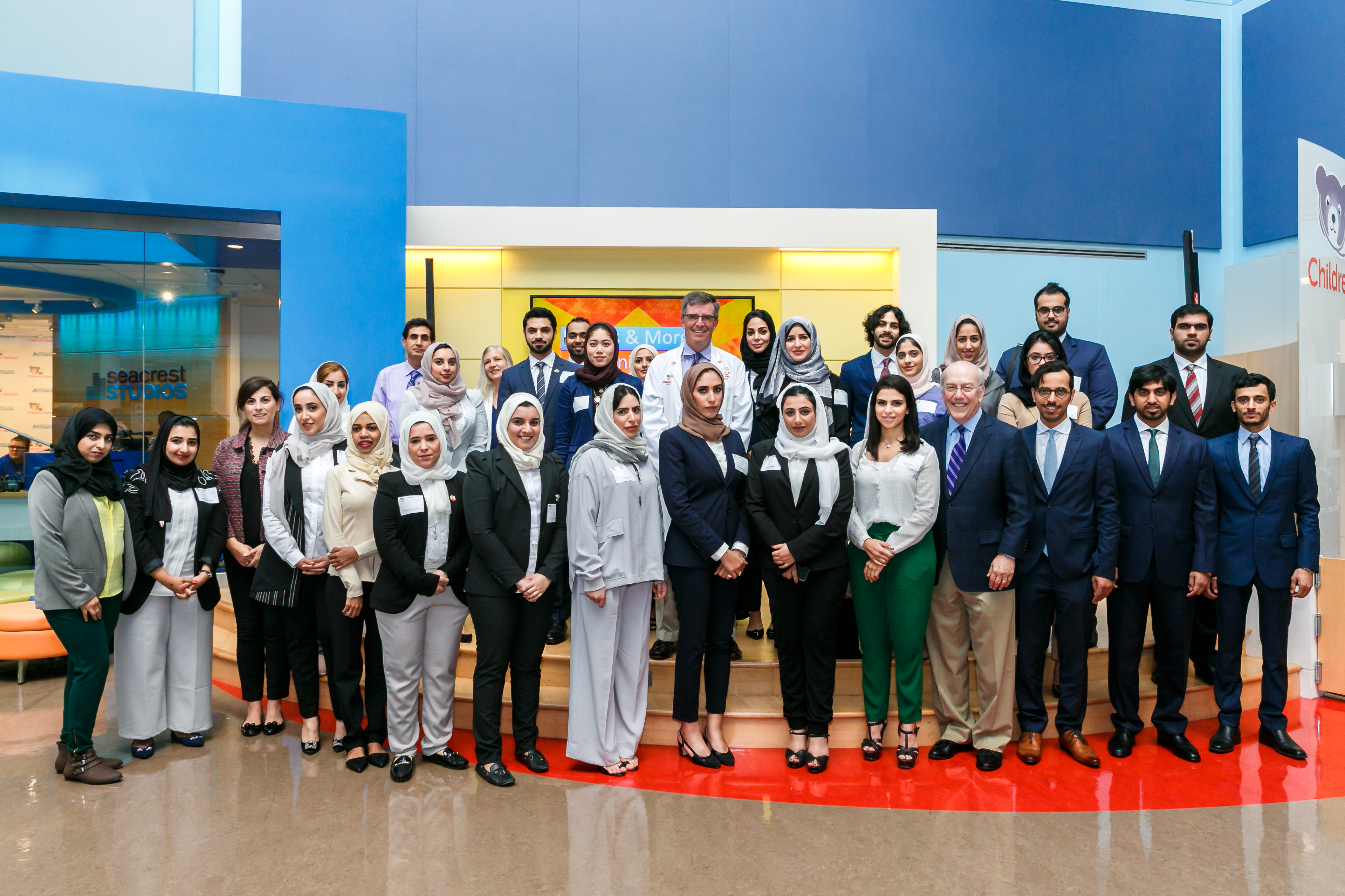 CNMC UAE young diplomats