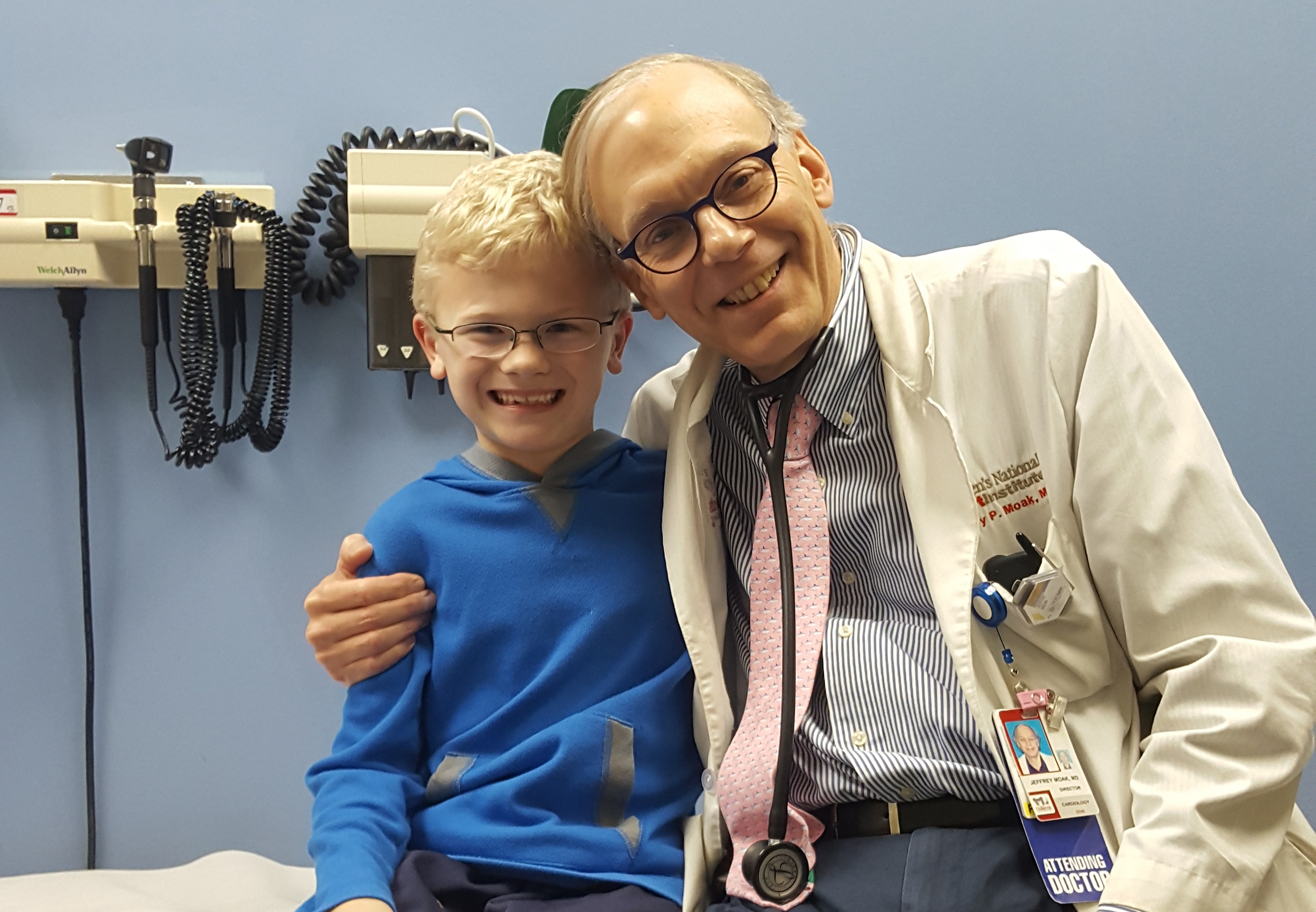 Aidan and Jeffrey Moak, M.D.