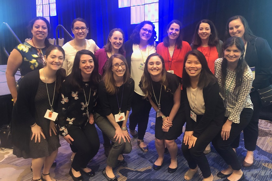 Diabetes Behavioral Research Team at the 2019 Society of Pediatric Psychology Annual Conference.
