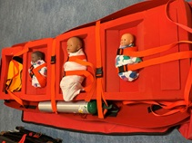 evacuation training NICU sled