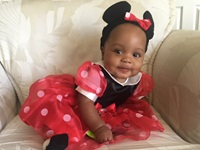 Amarie as Minnie Mouse