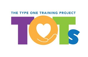Logo for TOTs, the Type One Training Project that studies healthy eating, physical activity and glycemic control in young children with Type 1 diabetes