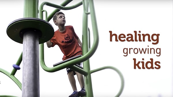 Healing Growing Kids - for healthcare providers landing page
