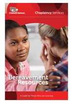 Bereavement Resources brochure cover