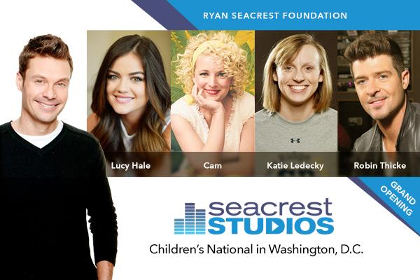 Ryan Seacrest Foundation Opens Multimedia Broadcast Studio