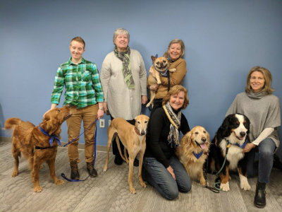 animal therapy group
