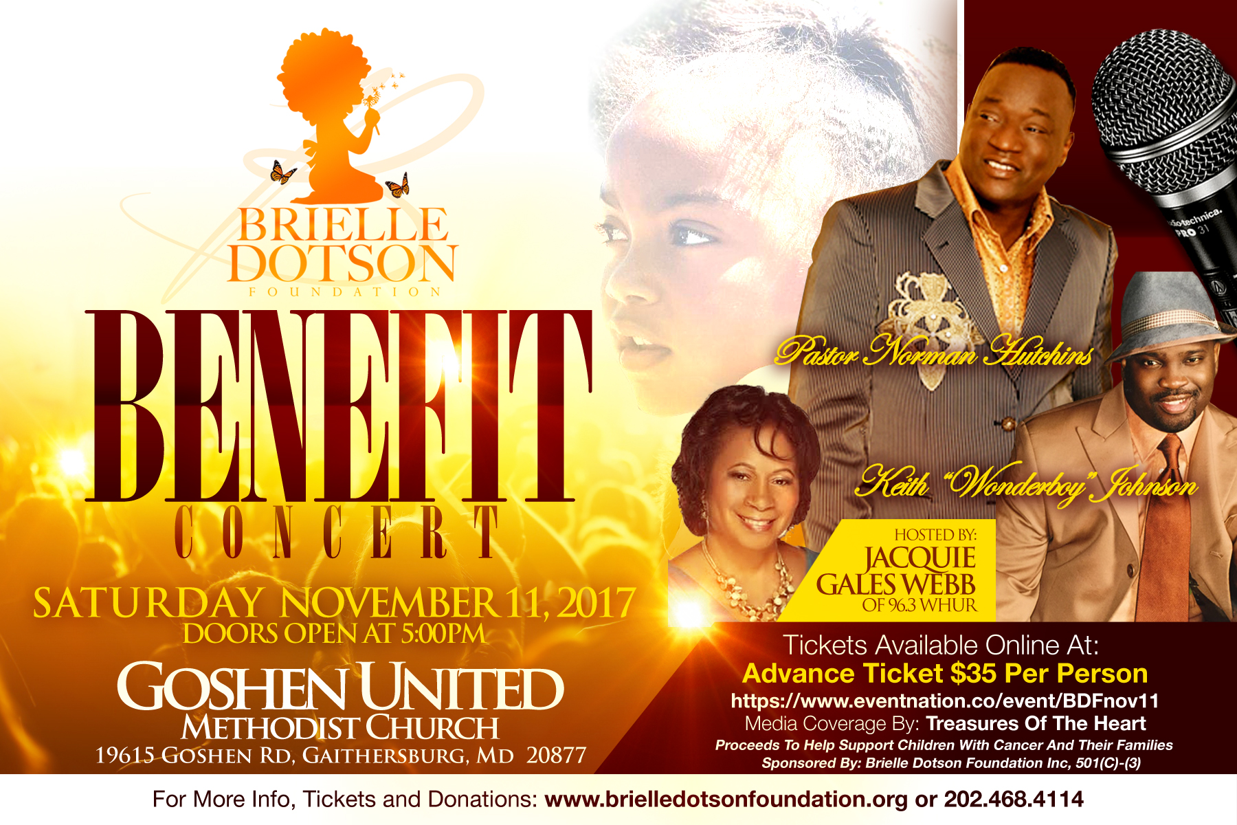 Brielle Dotson Foundation Benefit Concert