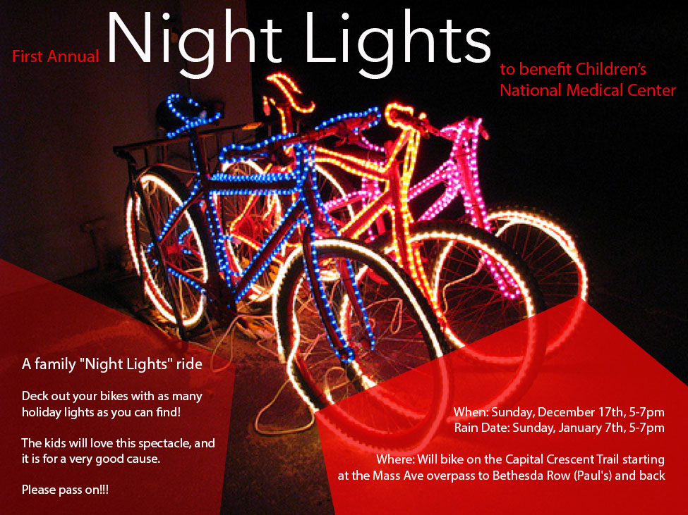 Night Lights Bike Ride