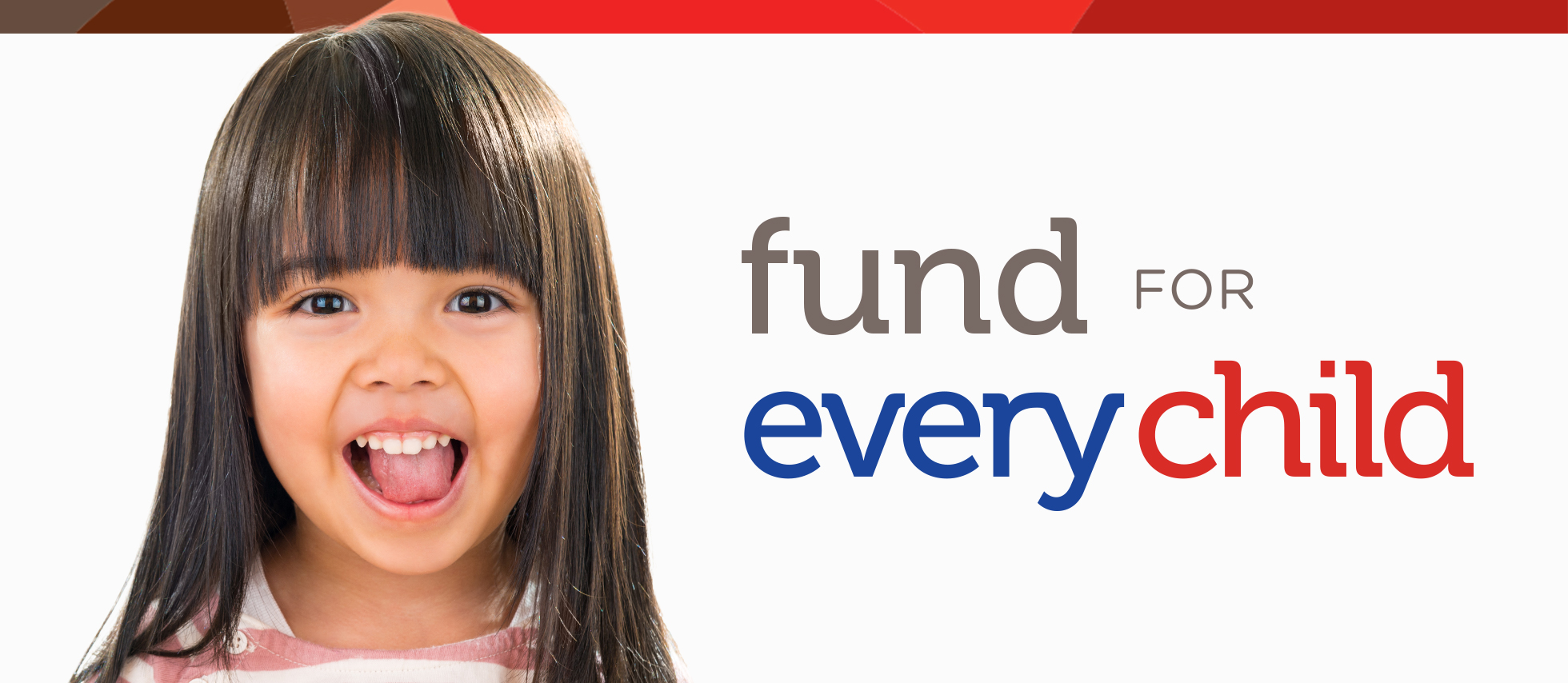 Fund for Every Child header